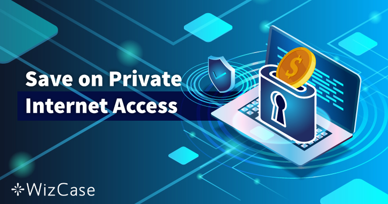Дійсний купон Private Internet Access 2021: знижки до 77%