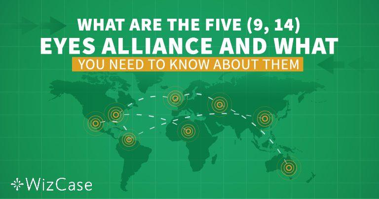 """Дізнайтеся про альянси """"Five, Nine і 14 Eyes"""", перш ніж обрати будь-яку VPN-мережу"""