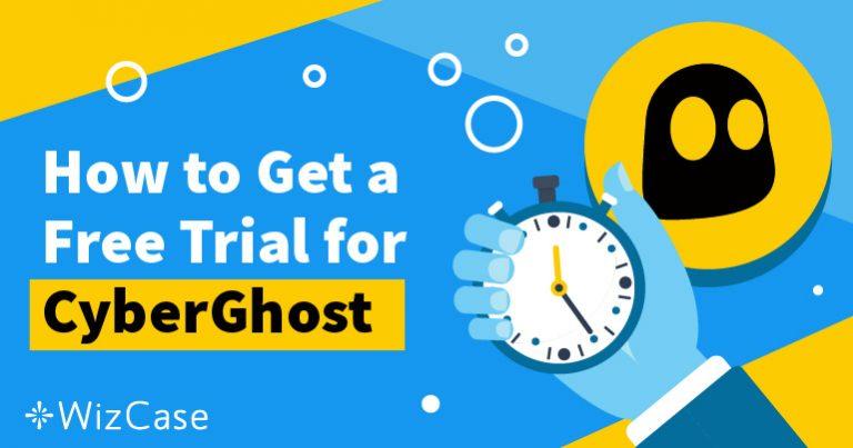 Безкоштовно використовуйте пробну версію CyberGhost протягом 45 днів – Ось як це зробити