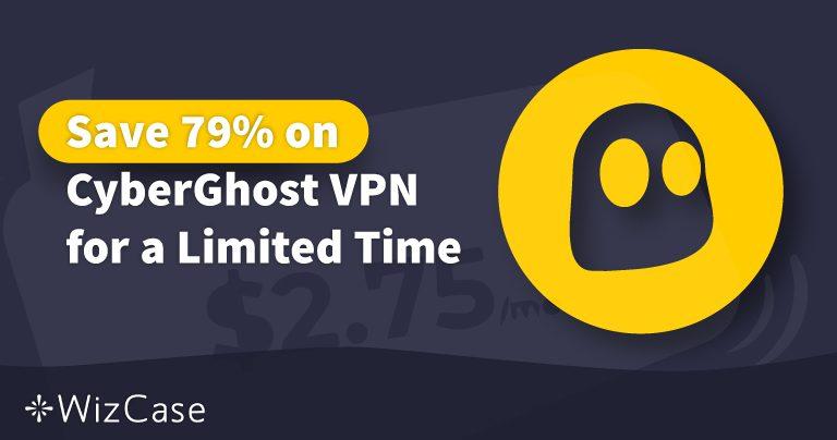 Дійсний купон для CyberGhost VPN на 2020 рік: заощадьте до 79% вже сьогодні